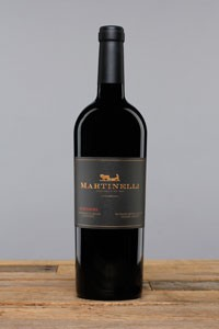 2018 Zinfandel Martinelli Road 750ml